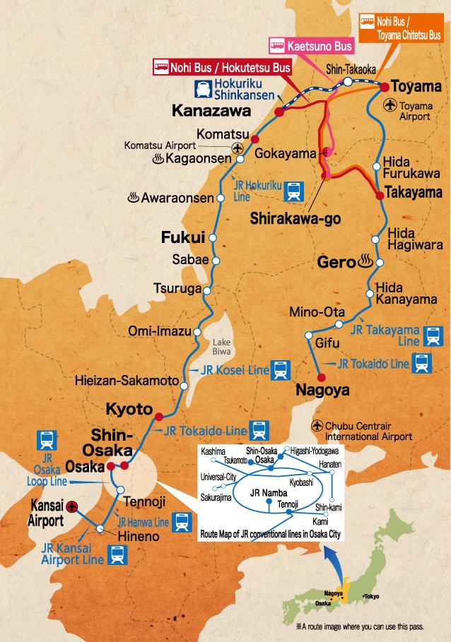 tohoku map